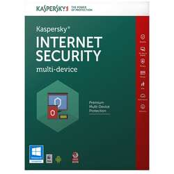 Antivirus Kaspersky Internet Security 2017, 5 PC, 1 an + 3 luni, Retail, New license