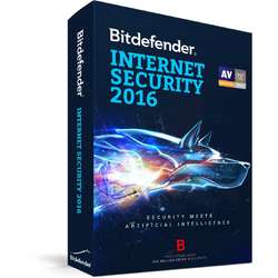 Antivirus Bitdefender Internet Security 2016, 3 PC, 1 an, New license, Retail