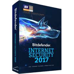 Antivirus Bitdefender Internet Security 2017, 3 PC, 1 an, New License, Retail