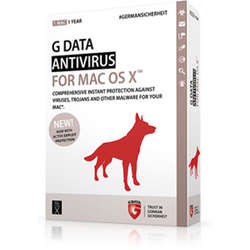 G Data Antivirus for MAC 5PC, licenta electronica