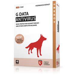 G Data Antivirus 2015 3 PC, licenta electronica, 24 luni
