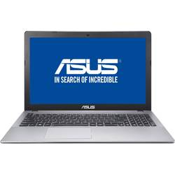 Laptop ASUS 15.6'' A550VX, Intel Core i5-6300HQ, 4GB DDR4, 1TB 7200 RPM, GTX 950M 2GB, FreeDos, Gray