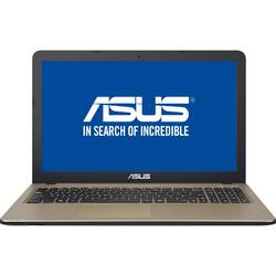 "Laptop ASUS 15.6"" X540SA, Intel Celeron N3060, 4GB, 128GB SSD, GMA HD 400, FreeDos, Chocolate Black"