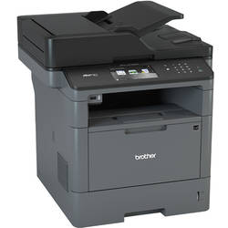 Multifunctional Brother MFC-L5750DW, laser alb-negru, Fax, A4, 40 ppm, Duplex, ADF, Retea, Wireless