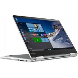 Laptop 2-in-1 Lenovo 14'' Yoga 710, FHD IPS Touch,  Intel Core i7-7500U, 8GB DDR4, 512GB SSD, GMA HD 620, Win 10 Home, Silver