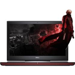 Laptop DELL Gaming 15.6'' Inspiron 7566 (seria 7000), FHD, Intel Core i5-6300HQ , 8GB DDR4, 256GB SSD, GeForce GTX 960M 4GB, Win 10 Home, Backlit, Black