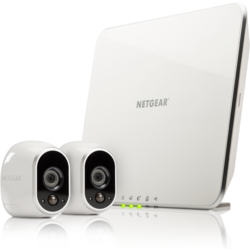 NETGEAR Kit Smart Home ARLO, 2 x Camera HD WiFi + Smart Home Base, Day/Night, In/0utdoor (VMS3230)