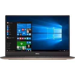 Ultrabook DELL 13.3'' New XPS 13 (9360), FHD InfinityEdge, Intel Core i7-7500U, 8GB, 256GB SSD, GMA HD 620, Win 10 Home, Rose Gold
