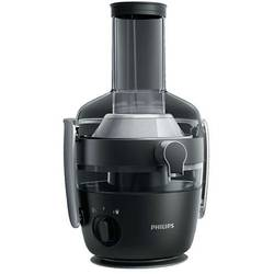 Philips Storcator de fructe si legume Avance Collection HR1919/70, 1000 W, recipient suc 1 l, recipient pulpa 2.1 l, 2 viteze Fiberboost, tub de alimentare XXL 80 mm, negru