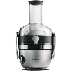 Philips Storcator de fructe si legume Avance Collection HR1922/20, 1200 W, recipient suc 1 l, recipient pulpa 2.1 l, 2 viteze Fiberboost, tub de alimentare XXL 80 mm, metalic