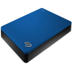Seagate HDD Extern 4TB Backup Plus, USB3.0, blue