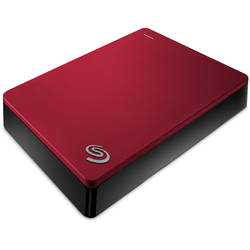Seagate HDD Extern 4TB Backup Plus, USB3.0, red
