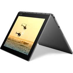 Lenovo Laptop 2-in-1 Yoga Book YB1-X90L 10.1'' Full HD, Intel Atom x5-Z8550, 4GB, 64GB eMMC, Intel HD Graphics, Windows 10 Pro, Carbon Black