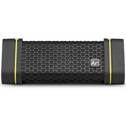 "Boxa portabila cu bluetooth KitSound ""Gravity"", Splashproof, IPX4, Black Yellow"
