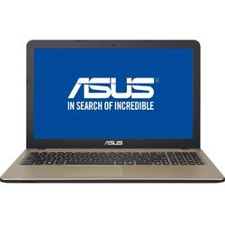 Laptop ASUS 15.6'' VivoBook A540LJ,  Intel Core i3-5005U, 4GB, 500GB, GeForce 920M 2GB, FreeDos, Chocolate Black