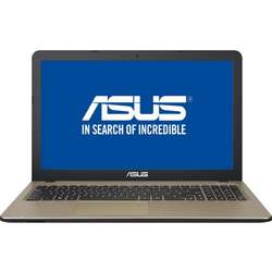 "Laptop ASUS A540SA  , Intel  Pentium N3710 1.60GHz, 15.6"", 4GB, 500GB, DVD-RW, Intel HD Graphics, Free DOS, Chocolate Black"