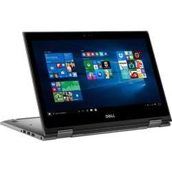 "Laptop Dell Inspiron 5378  Intel Core i5-7200U 2.50 GHz, 13.3"", Full HD, IPS, Touchscreen, 4GB, 128GB SSD, Intel HD Graphics, Win 10 Home, Gray"