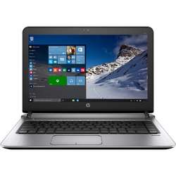 Laptop HP 13.3'' Probook 430 G3, Intel Core i3-6100U, 4GB DDR4, 500GB 7200 RPM, GMA HD 520, FingerPrint Reader, Win 7 Pro + Win 10 Pro, Dark Ash Silver