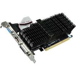 Placa video GIGABYTE GeForce GT 710 Silent 2GB DDR3 64-bit Low profile
