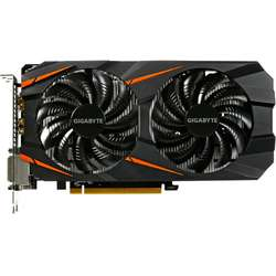 Placa video GIGABYTE GeForce GTX 1060 Windforce 6GB DDR5 192-bit