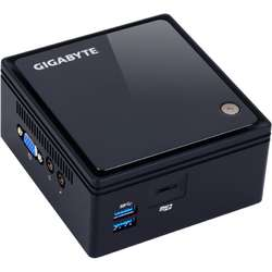 Mini Sistem PC GIGABYTE BRIX, Celeron N3000 1.04GHz, 1x DDR3 8GB max, HDD 2.5 inch, Wi-Fi, Bluetooth, HDMI, VGA, USB 3.0