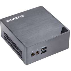 Mini Sistem PC GIGABYTE BRIX, Skylake i5 6200U 2.3GHz, 2x DDR3 16GB max, M.2 2280 SSD, HDD 2.5 inch, Wi-Fi, Bluetooth, HDMI, Mini DisplayPort, USB 3.0