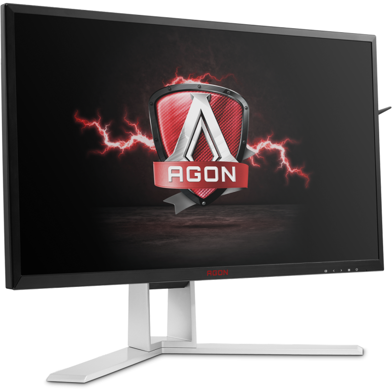 Monitor Led Aoc Gaming Ag241qg 24 Inch 2k 1ms Black-silver G-sync 165hz