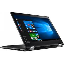 Laptop 2-in-1 Lenovo 15.6'' Yoga 510, FHD IPS Touch, Intel Core i3-7100U, 4GB DDR4, 1TB, GMA HD 620, Win 10 Home, Black