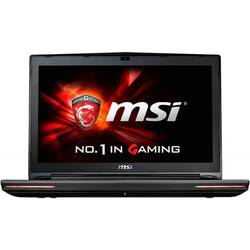 Laptop MSI Gaming 17.3'' GT72 6QE Dominator Pro G, FHD,  Intel Core i7-6700HQ, 8GB DDR4, 1TB 7200 RPM, GeForce GTX 980M 4GB, FreeDos, Black