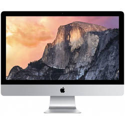"Sistem All In One Apple iMac 27"", Intel Quad Core i5 3.3 GHz, 8GB RAM, 2TB HDD, Mac OS X"