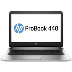 Laptop HP 14'' Probook 440 G3,  Intel Core i3-6100U, 4GB DDR4, 500GB 7200 RPM, GMA HD 520, FingerPrint Reader, FreeDos