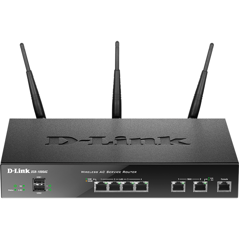 Router Wireless Business, 2 Wan, Ac1300, Vpn, Firewall