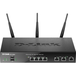 D-Link Router wireless business, 2 WAN, AC1300, VPN, Firewall