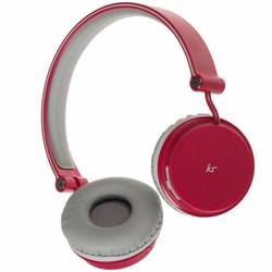 Casca bluetooth stereo KitSound Fresh Metro Overhead, Forest Fruits Pink