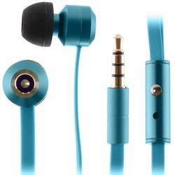Casti stereo KitSound Fresh Ribbons In-Ear KSRIBFRESHBL, microfon, Sea Mist Blue