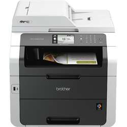 Multifunctionala Brother MFC-9340CDW, laser, color, format A4, fax, Retea, Wi-Fi