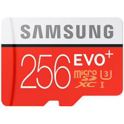 Samsung Card Micro Secure Digital 256GB, Clasa 10,UHS-1