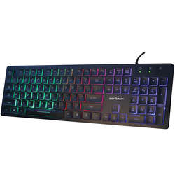 SERIOUX Tastatura 9500i, cu fir, US layout, iluminata, USB