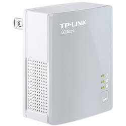 TP-LINK Adaptor PowerLine 500Mbps, Compact Size