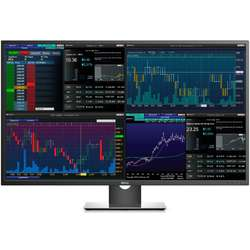 Monitor LED DELL P4317Q 43 inch 4K 8ms black-silver