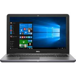Laptop DELL 15.6'' Inspiron 5567 (seria 5000), Intel Core i5-7200U, 4GB DDR4, 1TB, GMA HD 620, Win 10 Home, Grey