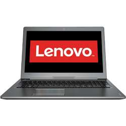 Laptop Lenovo 15.6'' IdeaPad 510, FHD IPS,  Intel Core i7-7500U, 8GB DDR4, 256GB SSD, GeForce 940MX 4GB, FreeDos, Gun Metal