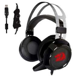 Redragon Casti Gaming Siren 2, surround 7.1, Black