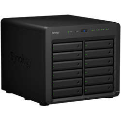 Synology NAS 12 bay, Xeon quad-core 2.2GHz (burst up to 2.7GHz), 4 x 1GbE RJ-45