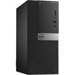 Sistem Desktop  DELL OptiPlex 3040 MT,  Intel Core i5-6500 3.2GHz, 8GB DDR3, 1TB HDD, GMA HD 530, Linux, 3Yr NBD