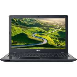 Laptop Acer 15.6'' Aspire E5-575G, FHD, Intel Core i5-7200U, 4GB DDR4, 128GB SSD, GeForce 940MX 2GB, Linux, Black