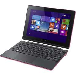 Laptop 2-in-1 Acer Switch 10, SW3-013 10.1 inch MultiTouch IPS, Intel Atom Z3735F 1.33GHz Quad Core, 2GB RAM, 64GB flash, Wi-Fi, Bluetooth, Windows 10 Home, Pink