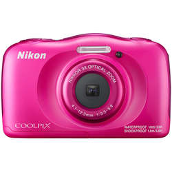Nikon Aparat foto digital COOLPIX WATERPROOF W100, Backpack Kit, roz