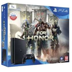 Consola Sony Playstation 4 Chassis Black Slim 1TB & For Honor