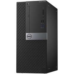Sistem desktop DELL OptiPlex 3046 MT,  Intel Core i3-6100 3.7GHz Skylake, 4GB DDR4, 500GB HDD, GMA HD 530, Linux